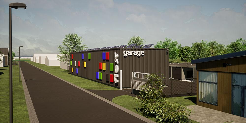 FlexGarage gaat 60 units op Eeserwold bouwen